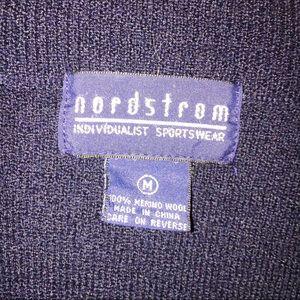 Nordstrom Sweaters - Nordstrom cardigan wool  sweater Navy Medium VTG